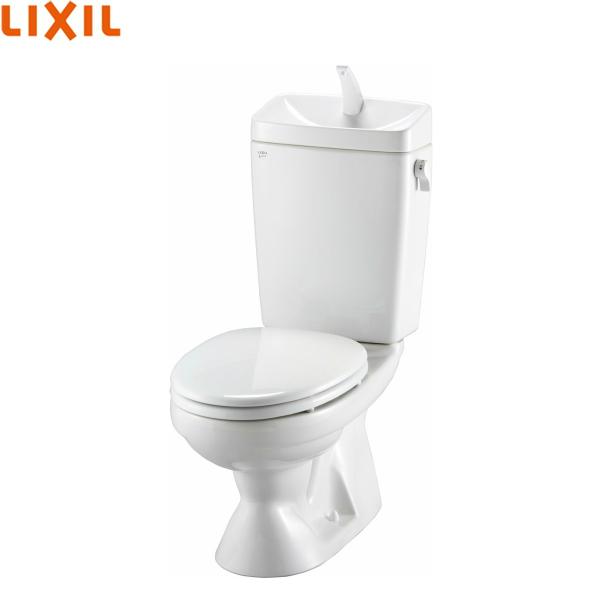 リクシル[LIXIL/INAX]洋風LG便器[ECO6・床排水・手洗付・VP/VU75配管用]C-100S+DT-4850/BW1[ピュアホワイト]【送料無料】