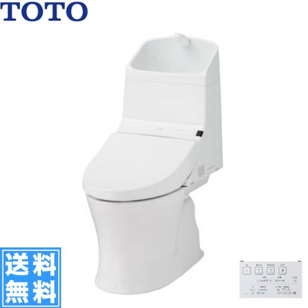 [CES969M]TOTOウォシュレット一体型便器[HVシリーズ][#NW1/ホワイト限定][手洗付・床排水(リモデル式)]【送料無料】