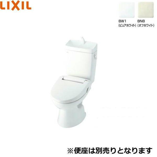 リクシル[LIXIL/INAX]一般洋風便器セット[手洗付・便座無し]C-110PTU+DT-5800BL[床上排水タイプ]【送料無料】