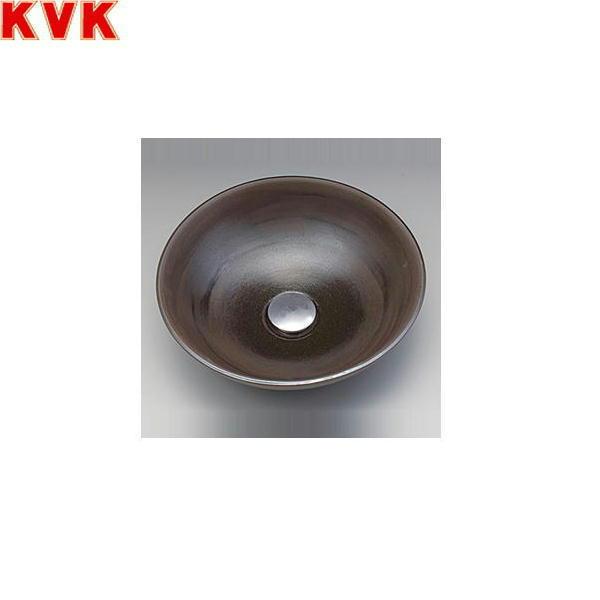 【フラッシュクーポン!5/1~5/8 AM9:59】[KV37A]KVK手洗器[美術工芸手洗鉢][黒泥/プレーン]【送料無料】
