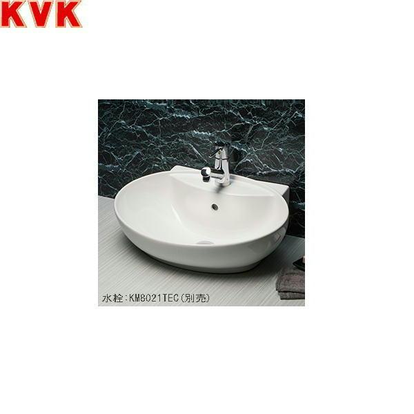 【フラッシュクーポン!5/1~5/8 AM9:59】[KV880KVC]KVK洗面器[ポップアップ用穴なし][ピュアホワイト]【送料無料】