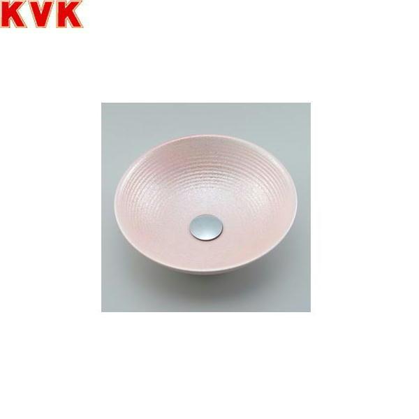 【フラッシュクーポン!5/1~5/8 AM9:59】[KV89A]KVK手洗器[美術工芸手洗鉢][ピンクラスター/六兵]【送料無料】