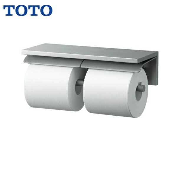 [YH700AD]TOTO棚付二連紙巻器[スペア1個横型タイプ]