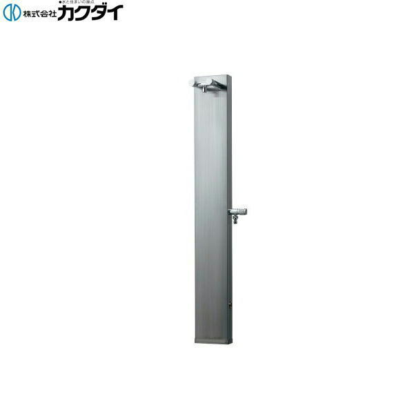 【フラッシュクーポン!5/1~5/8 AM9:59】カクダイ[KAKUDAI]ステンレス混合水栓柱624-101【送料無料】