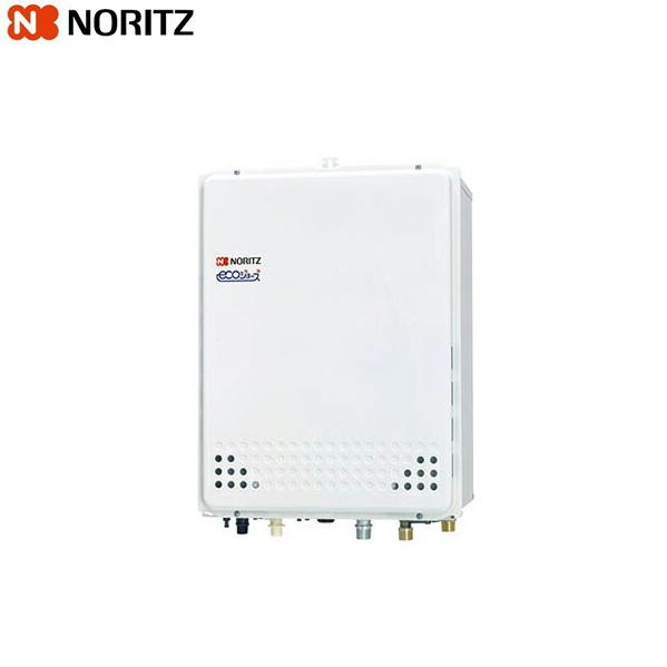 ノーリツ[NORITZ]ガスふろ給湯器・設置フリー形[フルオート・エコジョーズ]PS扉内後方排気延長設置形24号GT-C2452AWX-TB-2-BL