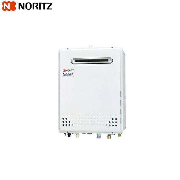 ノーリツ[NORITZ]ガスふろ給湯器・設置フリー形[オート・エコジョーズ]屋外壁掛形16号GT-C1652SAWX-2-BL【送料無料】