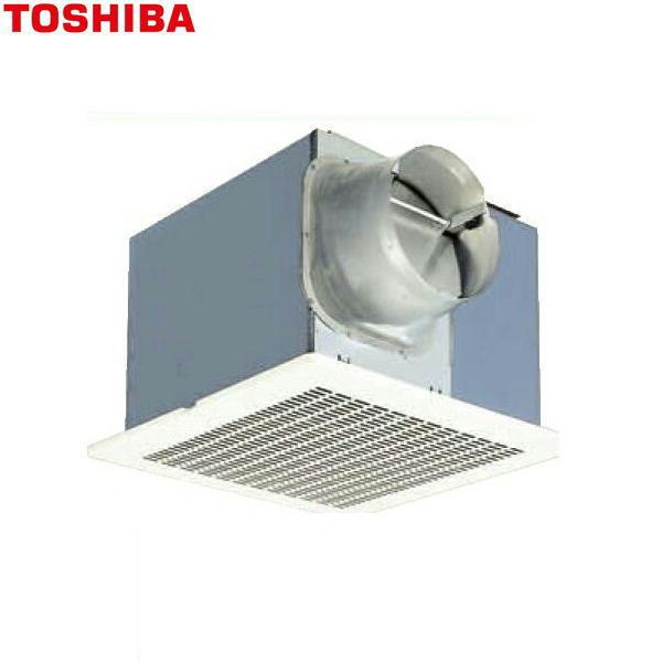 東芝[TOSHIBA]ダクト用換気扇メタルルーバータイプ低騒音ダクト用DVF-20MRQ8【送料無料】