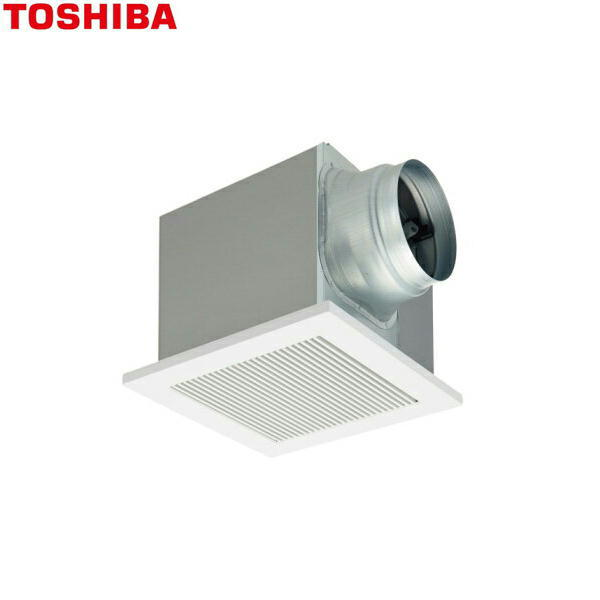 [DVF-T18RVQ]東芝[TOSHIBA]ダクト用換気扇インテリア格子タイプ低騒音形[大風量形]【送料無料】