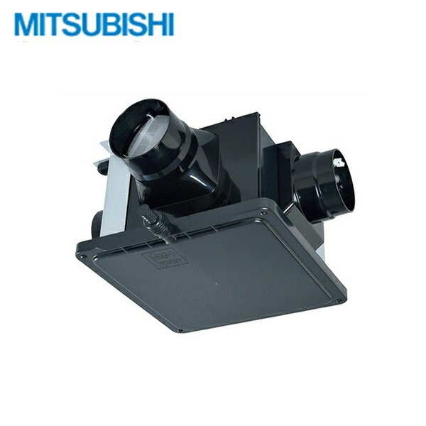 [V-15ZMKC6]三菱電機[MITSUBISHI]中間取付形ダクトファン[ダクト用換気扇]風圧式[1-3部屋換気用・高静圧形]