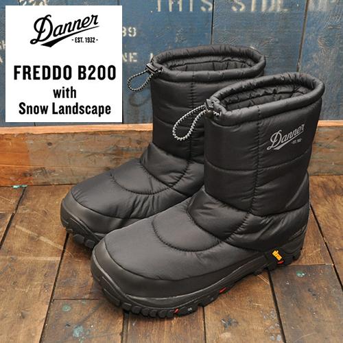 DANNER(ダナー) FREDDO フレッド B200/ブラック スノーブーツ
