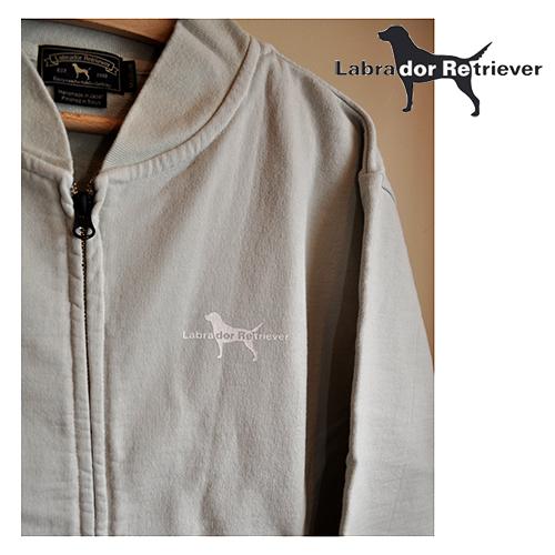 LABRADOR RETRIEVER(ラブラドールレトリバー) / 犬ロゴスウェットスタジャン