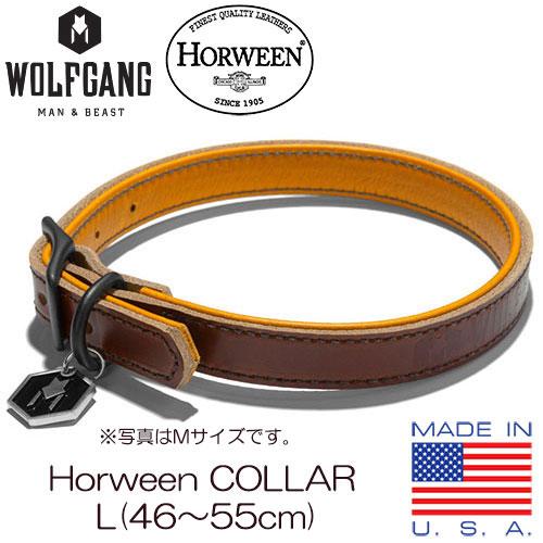 WOLFGANG MAN & BEAST (ウルフギャング) Horween COLLAR Lサイズ 10P03Dec16