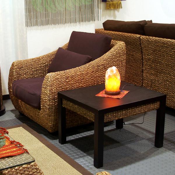 ウォーターヒヤシンス家具 エンドテーブル HET-15 安心のPERFORMAX正規品 サイドテーブル アジアン家具最高クラスの品質!