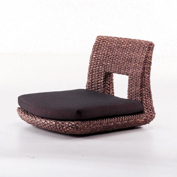 ウォーターヒヤシンス ダイニングチェア HC-15 安心のPERFORMAX正規品 アジアンフロアチェア・座椅子 アジアン家具最高クラスの品質!