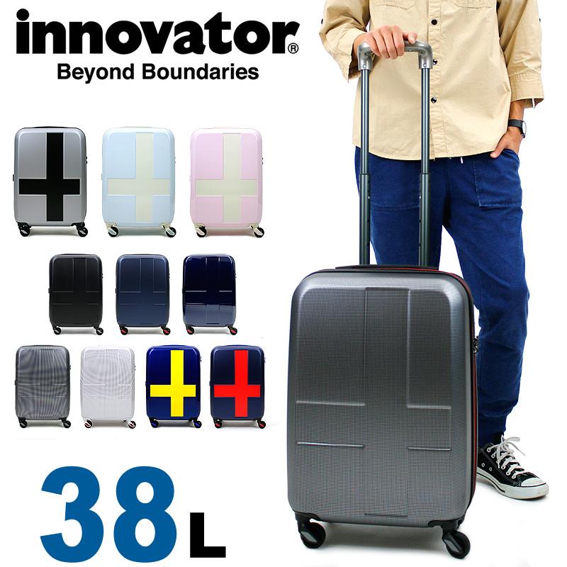 <title>送料無料 1~2泊程度の旅行に対応 スウェーデンの国旗モチーフを用いたデザインが特徴的 正規品 2年保証 スーツケース イノベーター 機内持ち込み 低価格化 INV48 INV48T innovator TSAロック 1泊~2泊 38L ハード ジッパータイプ Sサイズ メンズ レディース 静音キャスター ファスナー 国内旅行 修学旅行 海外旅行 トラベル</title>