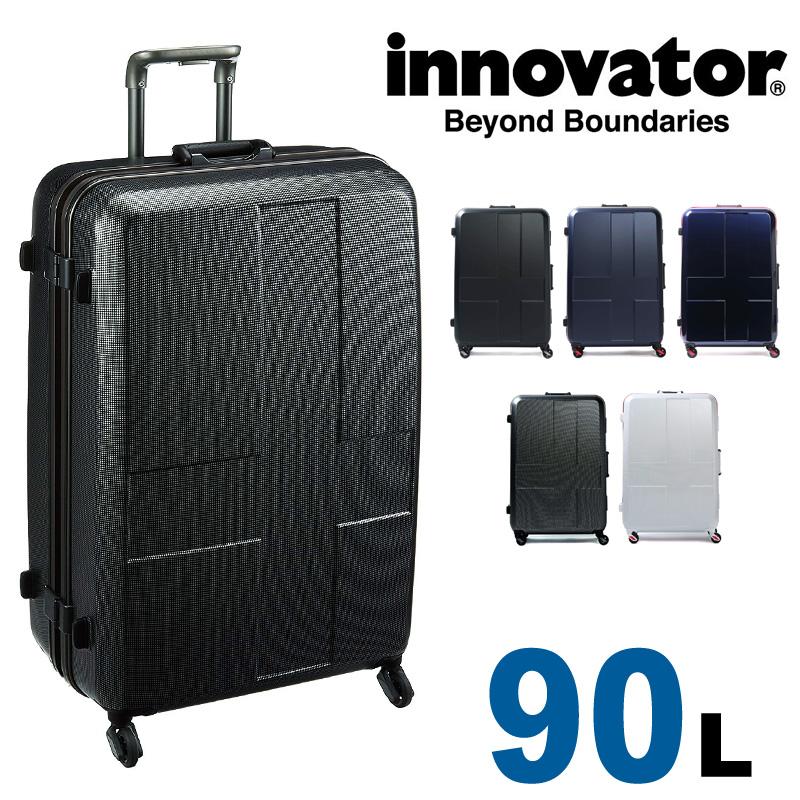 【正規品 2年保証】 スーツケース イノベーター INV68 innovator 大型 TSAロック 7泊~10泊 90L ハード フレームタイプ Lサイズ メンズ レディース 静音キャスター カードキー 国内旅行 修学旅行 海外旅行 トラベル