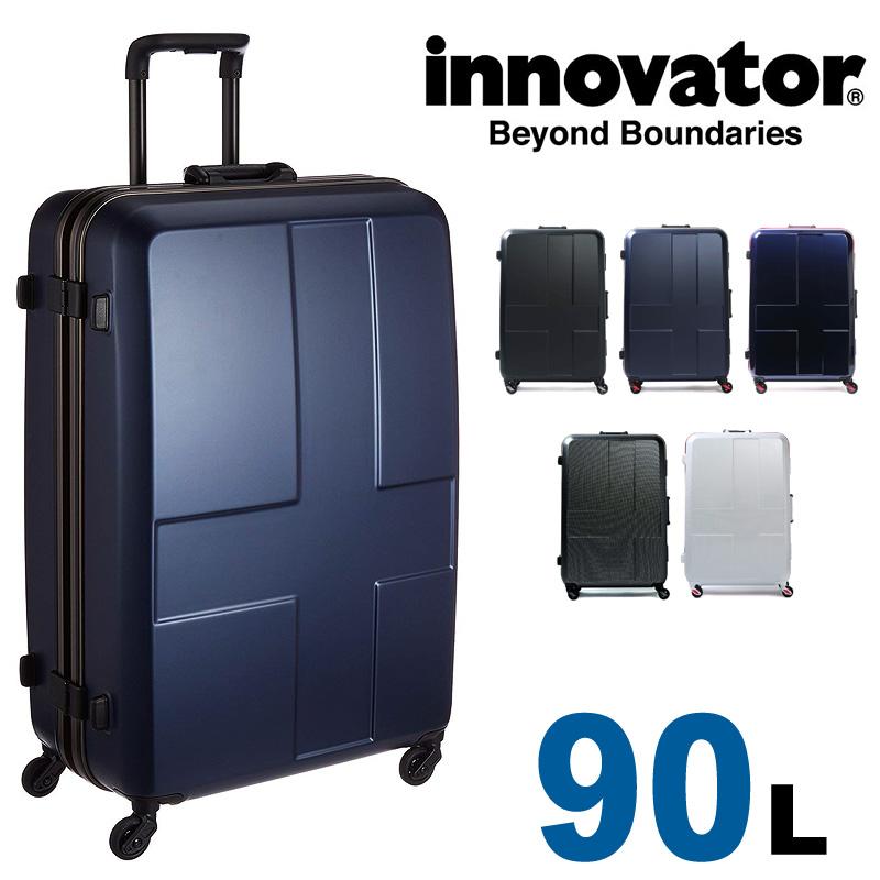 【正規品 2年保証】 スーツケース イノベーター INV68 innovator 大型 TSAロック 7泊~10泊 90L ハード フレームタイプ Lサイズ レディース メンズ 静音キャスター カードキー 国内旅行 修学旅行 海外旅行 トラベル