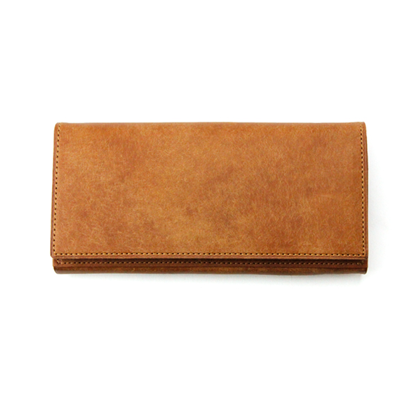 イタリア伝統製法革仕様シンプルと収納性を追求した大人向け長財布 [Ryu] SOLID (L) WALLET