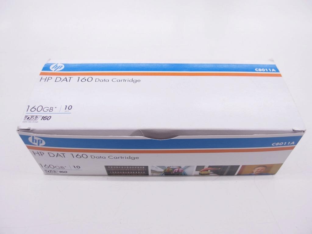 【未使用】 ヒューレットパッカード HP DAT 160 データカートリッジ 10本セット C8011A