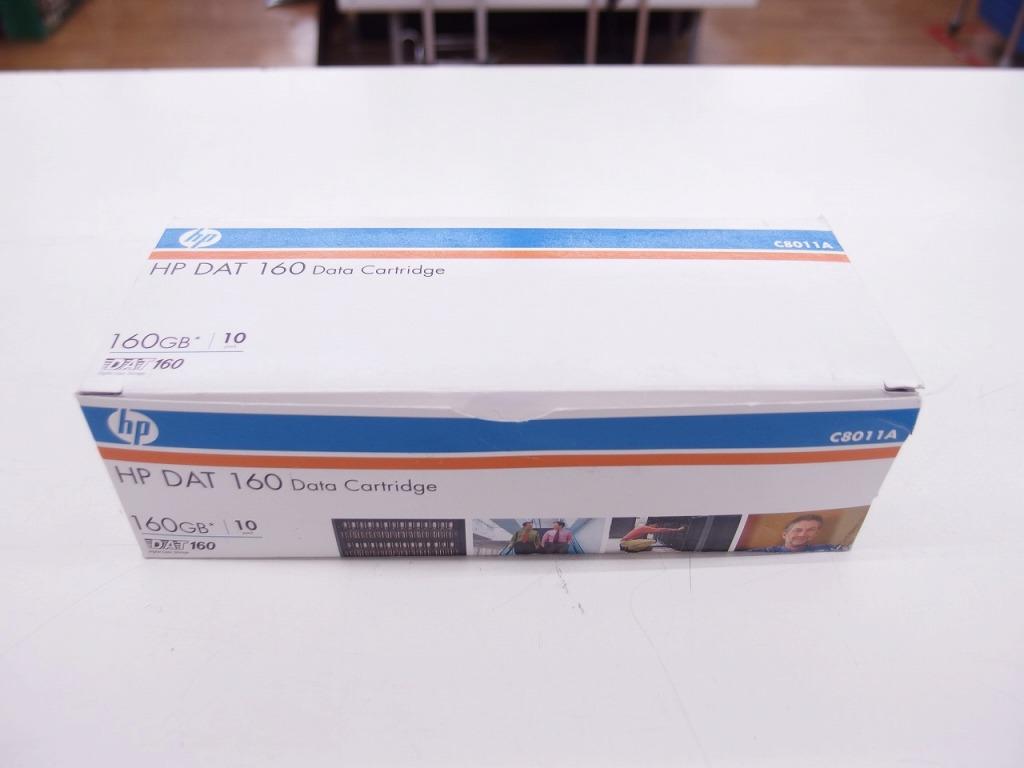 【未使用】 ヒューレットパッカード HP データカートリッジ DAT 160GB 10本セット