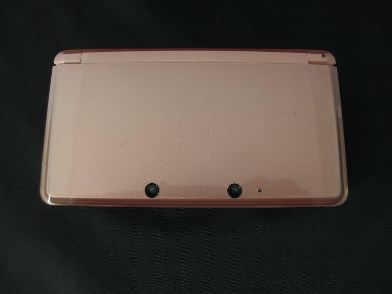 ニンテンドー Nintendo 3DS 本体のみ グロスピンク CTR-001 【中古】