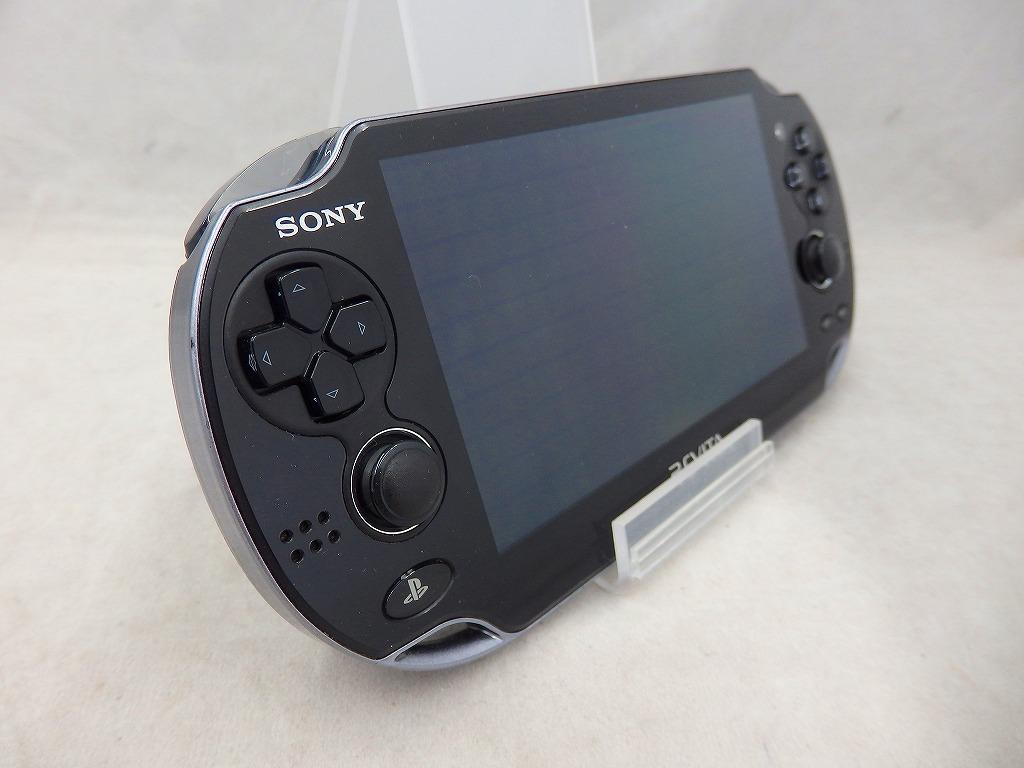 ソニー SONY PS Vita Wi-Fiモデル ブラック PCH-1000ZA01 【中古】