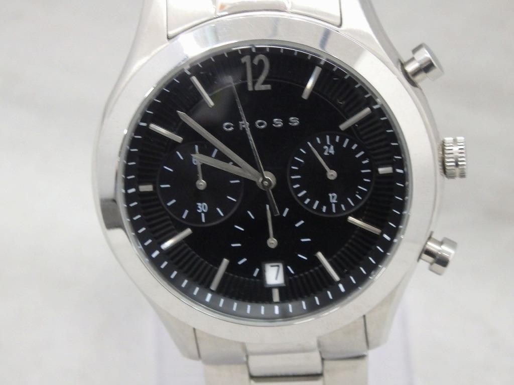 クロス CROSS クォーツ腕時計 CR8022 【中古】