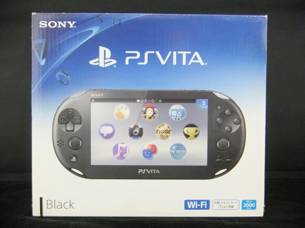 ソニー Sony Ps Vita 人気の製品 ブラック Za11 Pch 00 中古