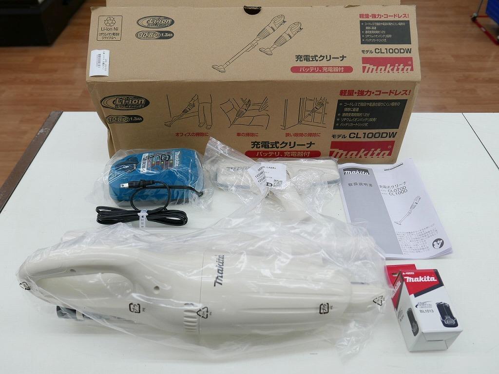大好評です マキタ makita 充電式クリーナー 日本正規代理店品 CL100DW 中古