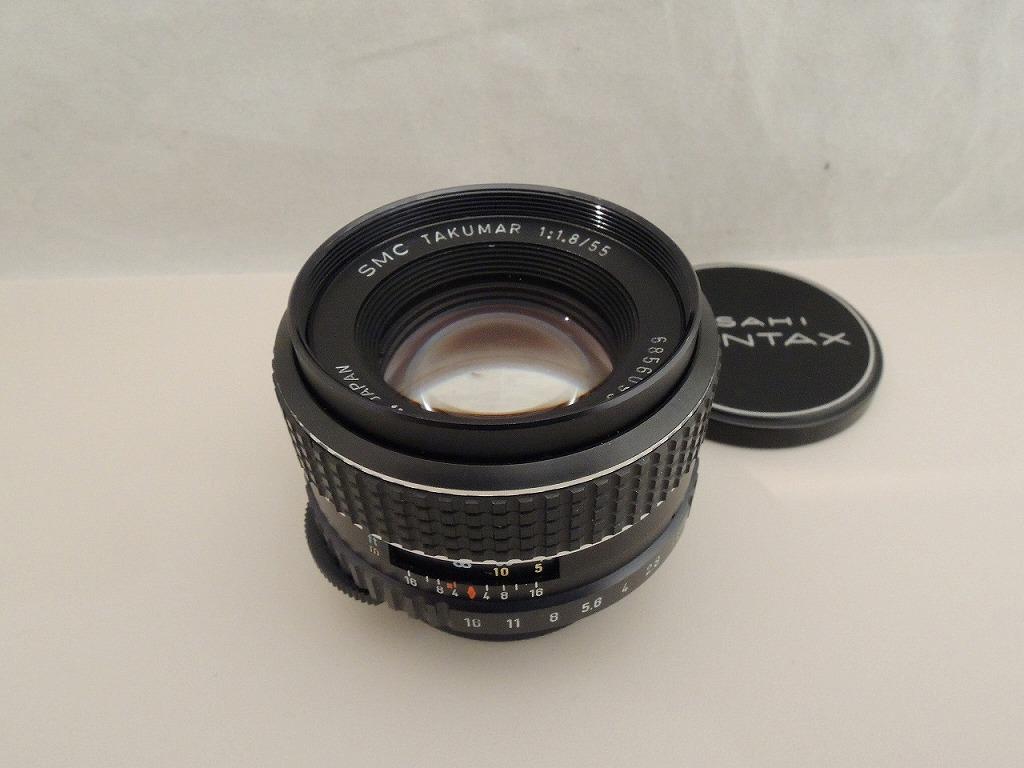 手数料無料 ペンタックス PENTAX 単焦点レンズ SMC 中古 1.8 最安値 TAKUMAR 55