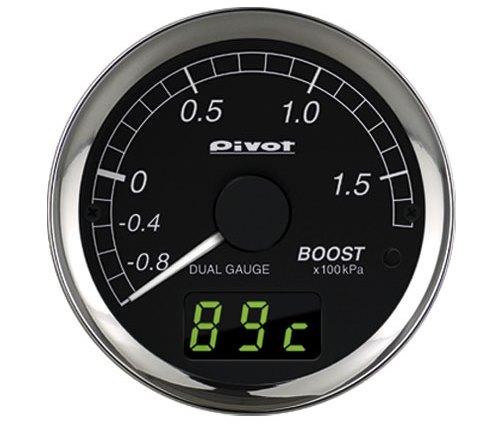DXB-B デュアルゲージ ブーストオートピーク【加給圧計】【ピボット】PIVOT(ピボット)