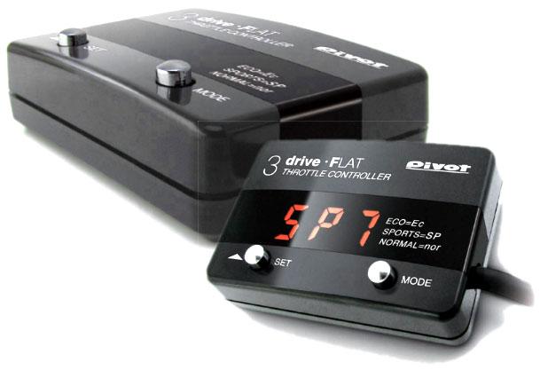 【プレゼント付き】スロコン スロットルコントローラー 3DRIVE FLAT2 THF2 車種別ハーネスTH-5Aセット 日産 新型ノート(e-POWER/ガソリン車) PIVOT(ピボット)