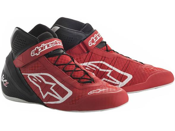 カートレーシングシューズ TECH1-KZシューズ 31 RED BLACK alpinestars(アルパインスターズ)