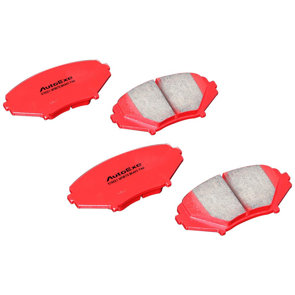 アクセラ(BM系)BM2FS/2FP-200001~、BM2AS/2APに装着不可 ストリートスポーツブレーキパッド リア 【AUTOEXE オートエクゼ】