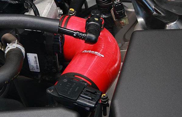 アクセラ(BM系ディーゼル2.2L車) アテンザ(GJ系ディーゼル車) CX-5(KF/KE系ディーゼル車) CX-8(KG2P) インテークサクションキット 【AUTOEXE オートエクゼ】