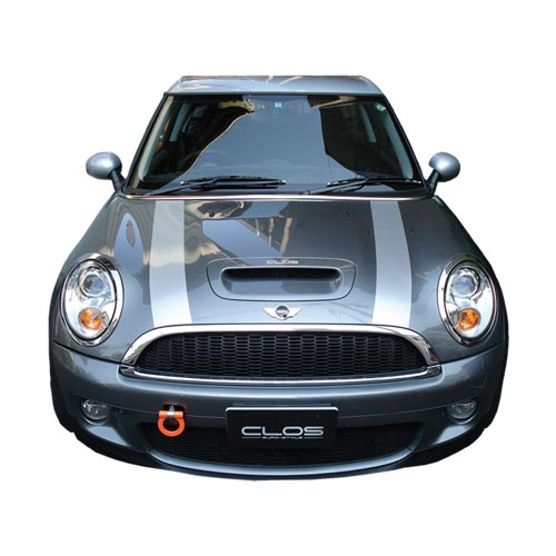 Autoparts Els Clos Cross Bmw Mini Cooper S R56 Bonnet Stripes