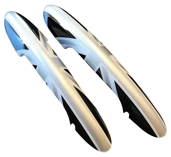 CLOS STYLE MINI F56 2Pセット ブラックユニオンジャック アウタードアハンドルカバー