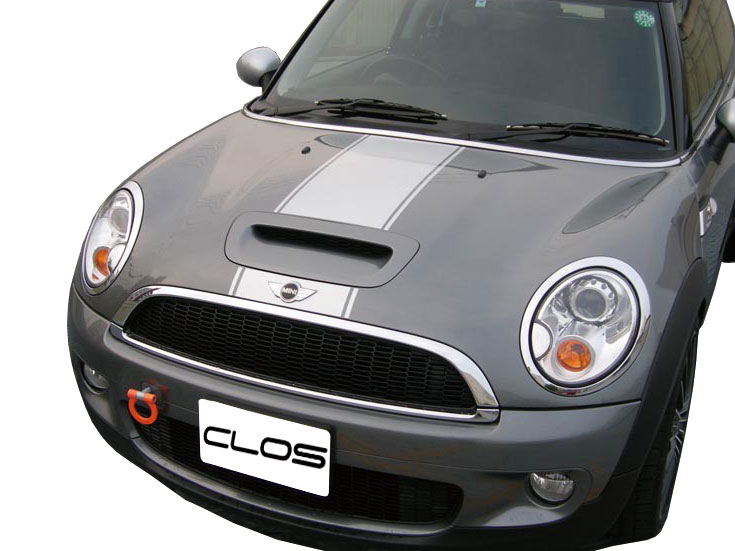 Autoparts Els Clos Cross Bmw Mini Cooper S R56 Bonnet Stripe