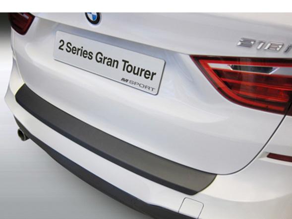 リアバンパープロテクター BMW 2シリーズ(F46)グランツアラー 2014~ Mスポーツ用 ブラック RGM