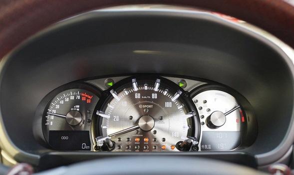 コペン(LA400K)MT/CVT用 メタルメーターキットEVO D-SPORT【ディースポーツ】