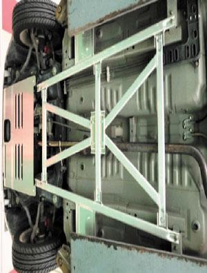 D-SPORT(ディースポーツ)フロアフレームバー コペン L880K