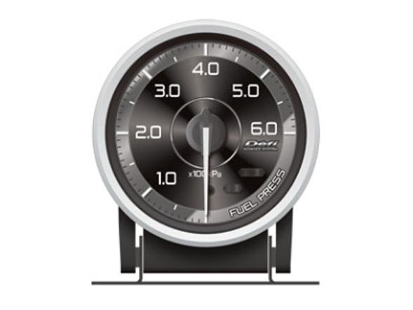 【プレゼント付き】Defi (デフィー)アドバンスA1メーター 燃圧計 60パイ