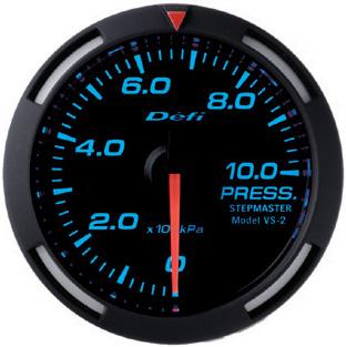 【訳あり 残り2台】DEFI(デフィ)メーター ブルーレーサーゲージ 60パイ 圧力計 PRESS