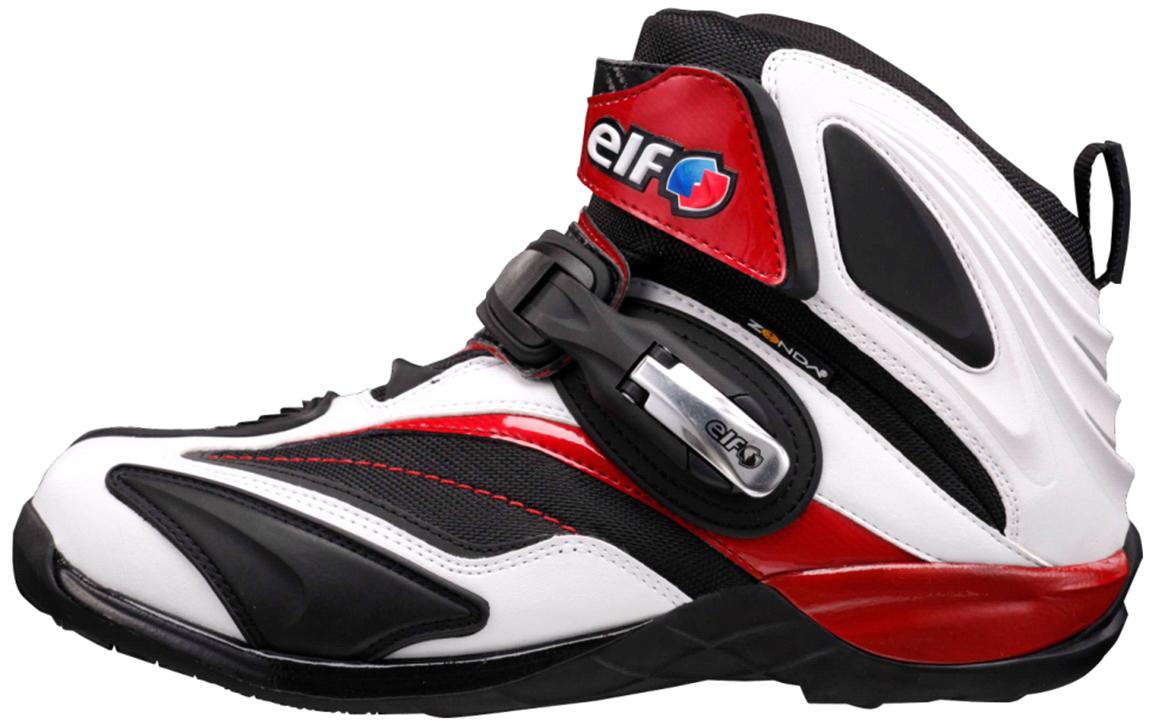 小精靈 /elf 騎鞋 Synthese14 白色 / 紅色