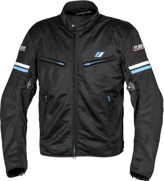 スマートライド メッシュジャケット ブルー FJ-S195-BL FLAGSHIP(フラッグシップ)