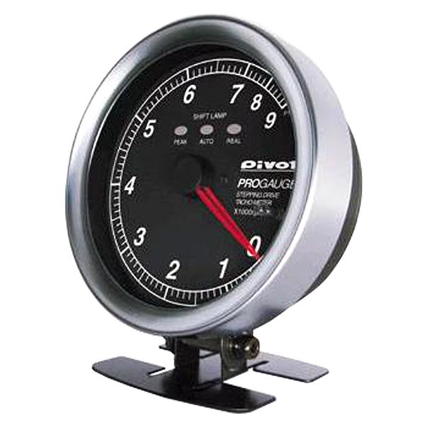 PROGAUGE プロゲージ 80Φ タコメーター PTX-W(白照明) PIVOT(ピボット)