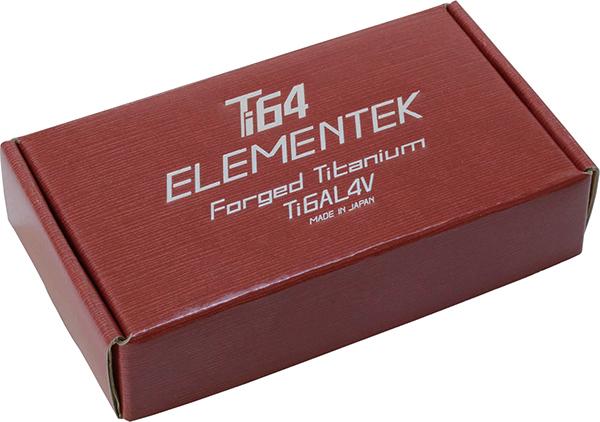 Ti64 エレメンテックチタン合金製ナット M12 X P1.25 4個 KYO-EI