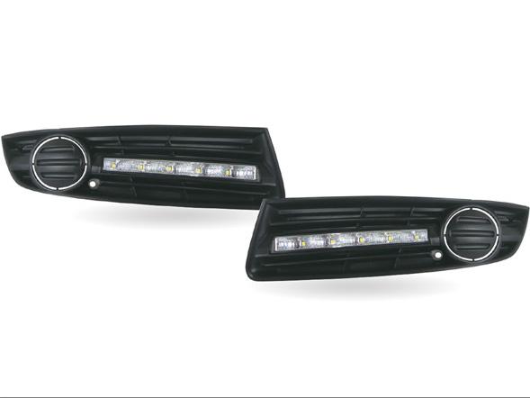 MAX【マックス】 LED デイタイム ランニング ライト付フロント エア インテイク VW Passat 3C セダン/ワゴン 用