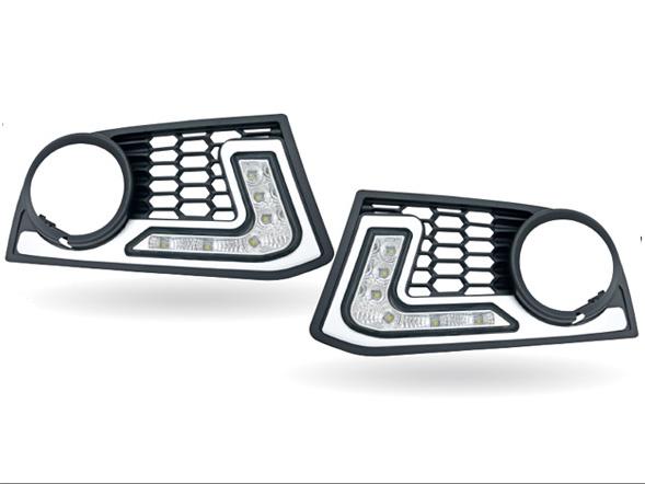 MAX【マックス】 LED デイタイム ランニング ライト付フロント エア インテイク BMW F10/F11 Mスポーツ セダン 用
