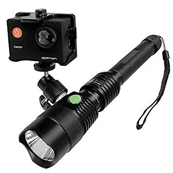 スマホホルダー付き 充電式ライト/角形MUカメラ付属タイプ tollight PRO(トルライト プロ)